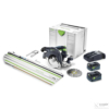 Kép 1/7 - Festool Akkus kézi billenőbúrás körfűrész HKC 55 Li 5,2 EBI-Set-SCA-FSK 420