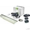 Kép 7/7 - Festool Akkus kézi billenőbúrás körfűrész HKC 55 Li 5,2 EBI-Set-SCA-FSK 420
