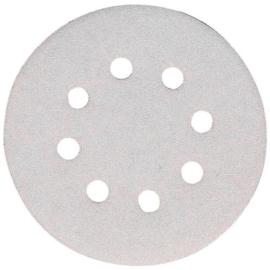 MAKITA csiszolópapír K080 125 fehér  lakkos 10 db-os