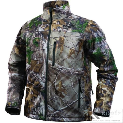 Milwaukee M12 HJ CAMO4-0 (S) M12 prémium fűthető kabát- terepszínű
