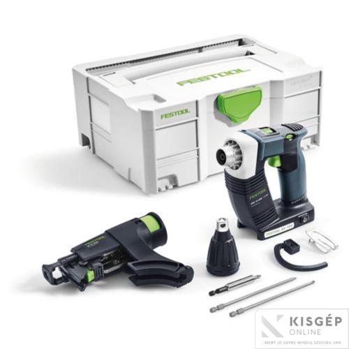 Festool Akkus szárazépítési csavarbehajtó, DWC 18-4500 Li-Basic