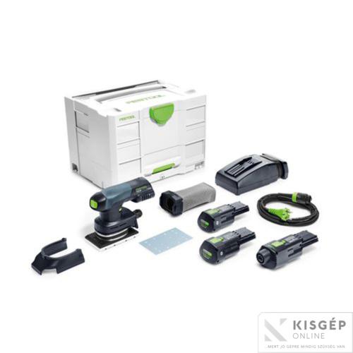 Festool Akkus vibrációs csiszoló RTSC 400 Li 3,1 I-Set