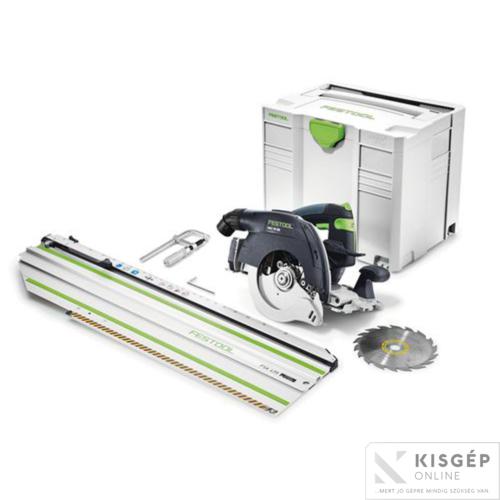 Festool Akkus kézi billenőbúrás körfűrész HKC 55 Li EB-Basic-FSK 420