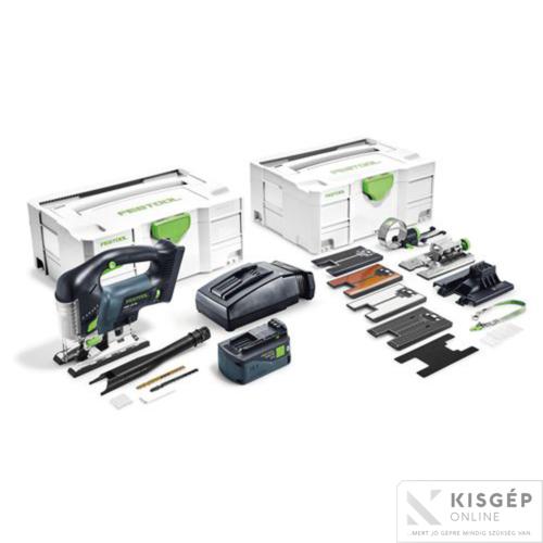 Festool Akkus szúrófűrész PSBC 420 Li 5,2 EBI-Set