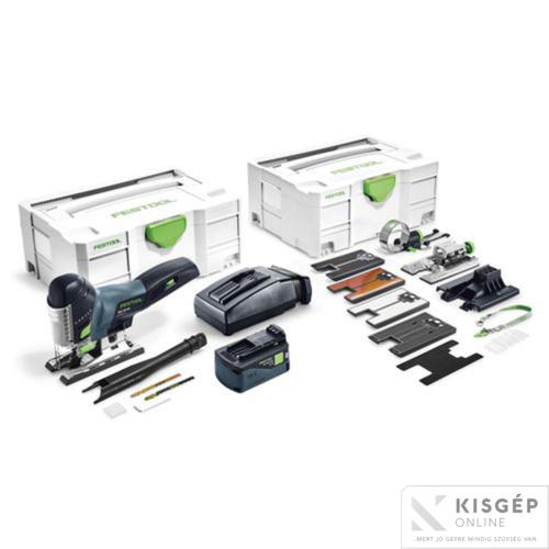Festool Akkus szúrófűrész PSC 420 Li 5,2 EBI-Set