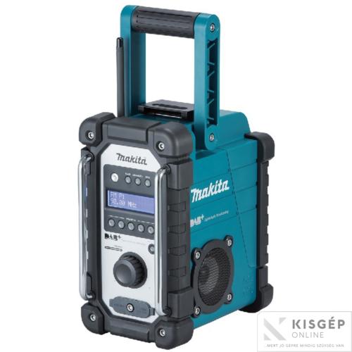 MAKITA DMR110 7,2V-18V LXT, CXT Li-ion DAB/DAB+akkus rádió