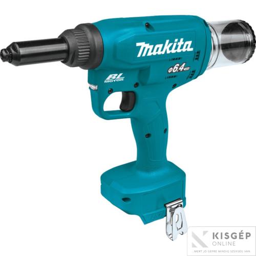 Makita DRV250Z 18V LXT Li-ion BL 2,4-6,4mm popszegecshúzó Z