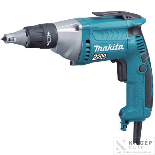 Makita FS2300 570W csavarbehajtó 25Nm 2500f/p CSENDES hajtómű
