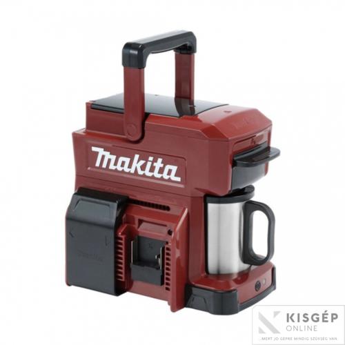 Makita DCM501ZAR 18V LXT Li-ion kávéfőző BORDÓ Z