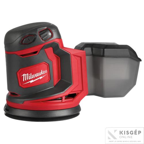 Milwaukee M18 BOS125-0  M18 EXCENTER CSISZOLÓGÉP 125 MM