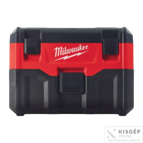 Milwaukee M18 VC2-0 akkus porszívó 7,5L száraz/nedves